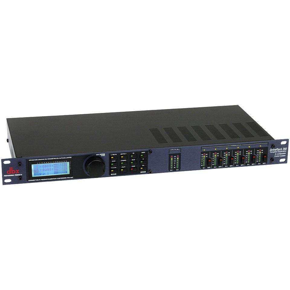 Dbx Driverack 260 171 Speaker Management