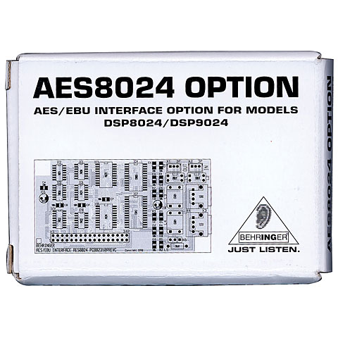 Behringer AES8024 Option