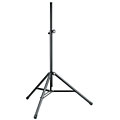 K&M 214/6 Professional Speaker Stand Black « Accesorios altavoces