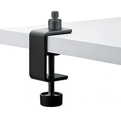 K&M 237s Table Clamp black « Mikrofonzubehör