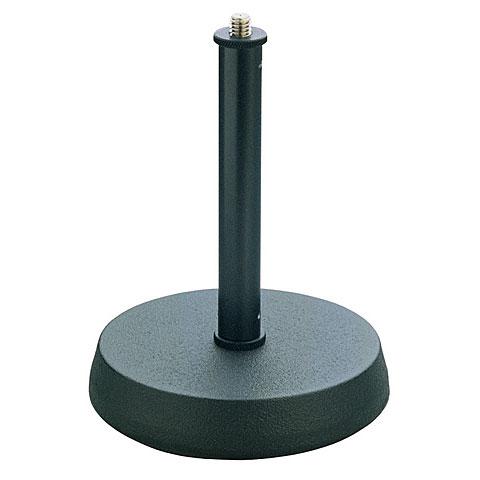 Soporte micrófono K&M 232 Table Microphone Stand Black