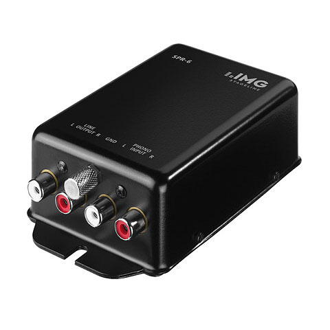 IMG Stageline SPR-6 Stereo Phono Preamp