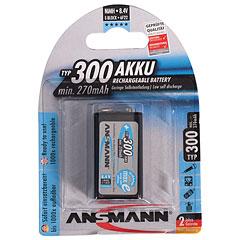Ansmann 9V-Block 250mAh NiMH « Oplaadbare batterijen