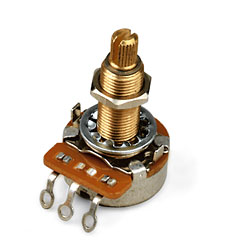 Gibson AT500, 500K log., lang « Potentiometer