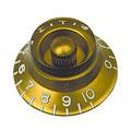 Bouton potentiomètre Gibson Bell HK020, 4x gold