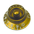 Bottone per potenziometro Gibson Bell HK020, 4x gold