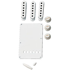 Fender Accessory Kit white « Kit de accesorios