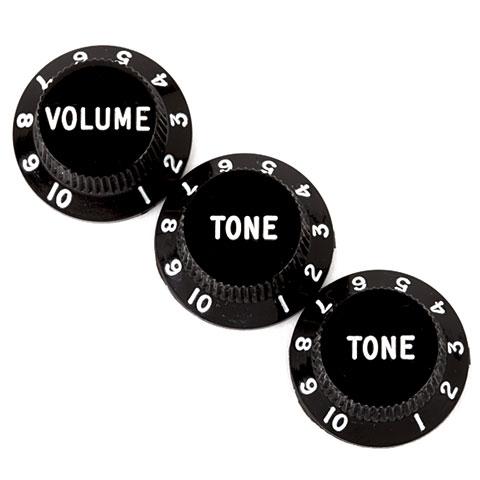 Fender Strat 1xVol/2xTone BK