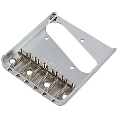 Fender 6-Saddle Vintage-Syle Telecaster® Bridge Assembly (Chrome) « Chevalet