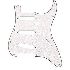 Fender Strat AMSTD white pearl « Pickguard