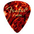 Púa Fender 351 shell, thin (12 unid.)
