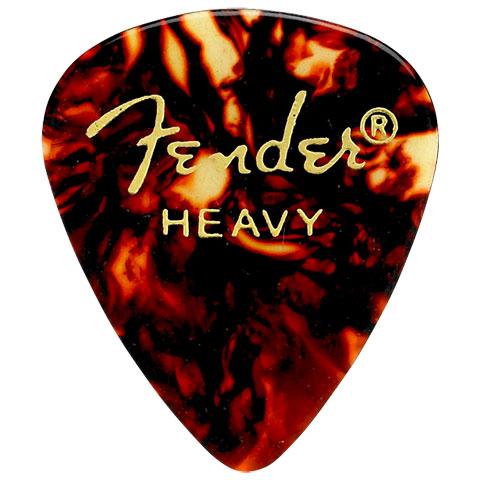 Plektrum Fender 351 shell, heavy (12 Stk)