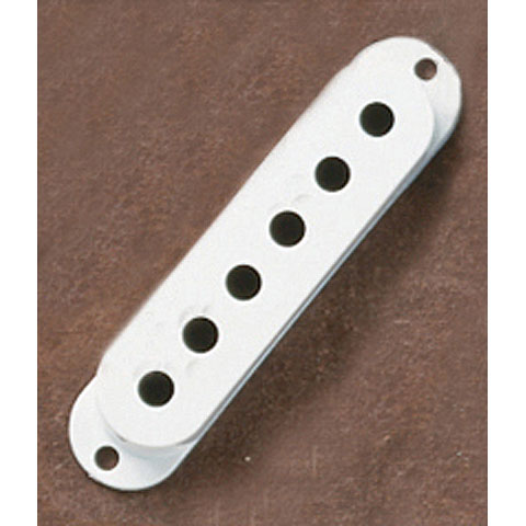 Pickupkappen Fender Strat white, 3Stck