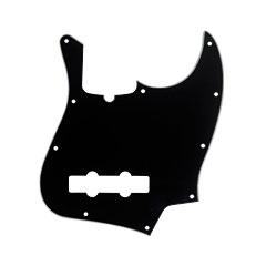 Fender Jazz Bass AMSTD black « Pickguard
