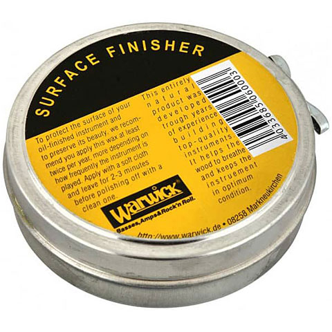 Limpieza guitarra/bajo Warwick Surface Finisher