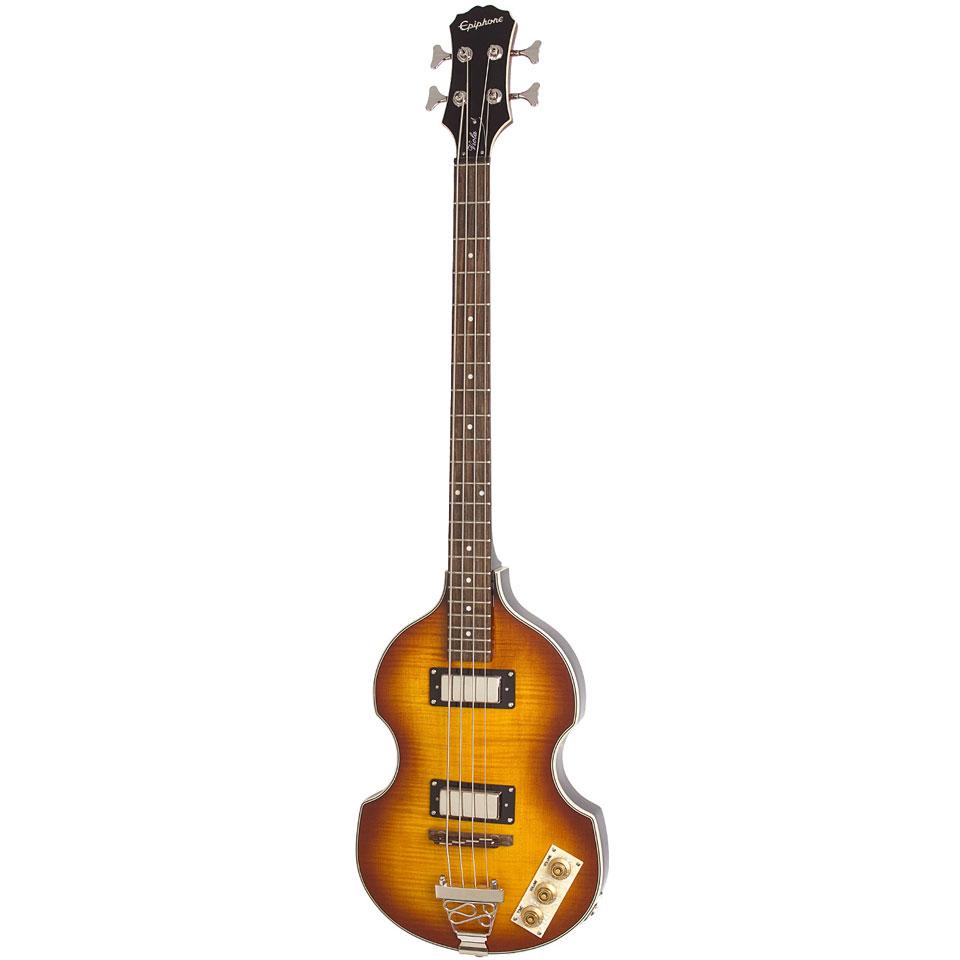 epiphone viola halbakustik bass vs electric bass guitar. Black Bedroom Furniture Sets. Home Design Ideas