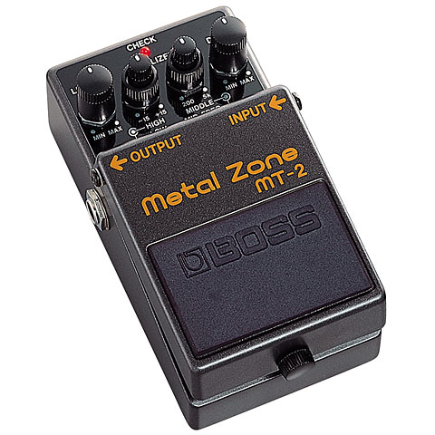 Pedal guitarra eléctrica Boss MT-2 Metal Zone