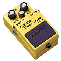 Boss SD-1 Super OverDrive « Effectpedaal Gitaar