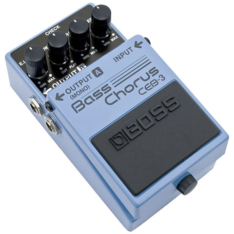 Pedal bajo eléctrico Boss CEB-3 Bass Chorus