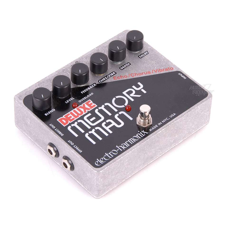 electro harmonix deluxe memory man 3452004 guitar effect. Black Bedroom Furniture Sets. Home Design Ideas