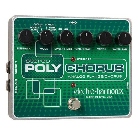 Pedal guitarra eléctrica Electro Harmonix Stereo Poly Chorus