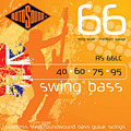 Cuerdas bajo eléctrico Rotosound Swingbass RS66LC