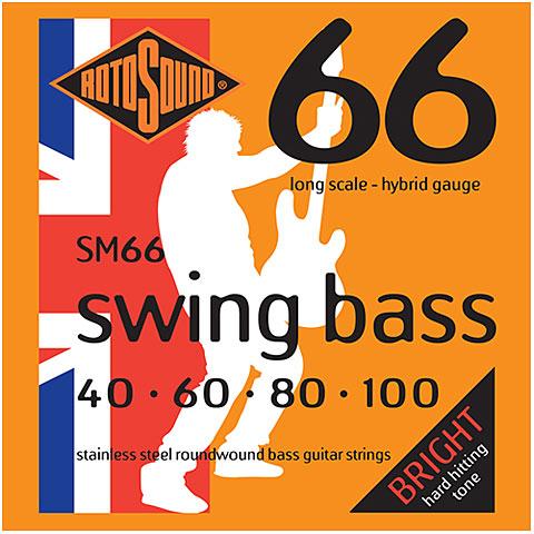 Saiten E-Bass Rotosound Swingbass SM66