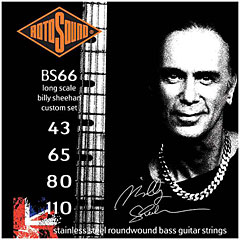 Rotosound Signature BS66 Billy Sheehan « Cuerdas bajo eléctrico