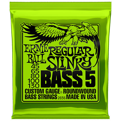 Saiten E-Bass Ernie Ball Regular Slinky Bass 5 2836 .045-130