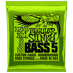 Ernie Ball Regular Slinky Bass 5 2836 .045-130 « Electric Bass Strings