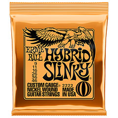 Ernie Ball Hybrid Slinky 2222 .009-046 « Electric Guitar Strings