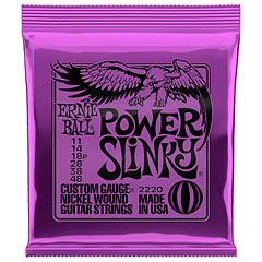 Ernie Ball Power Slinky 2220 .011-048 « Corde guitare électrique