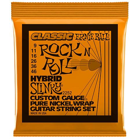 Cuerdas guitarra eléctr. Ernie Ball Hybrid Slinky Classic R&R 2252 .009-046