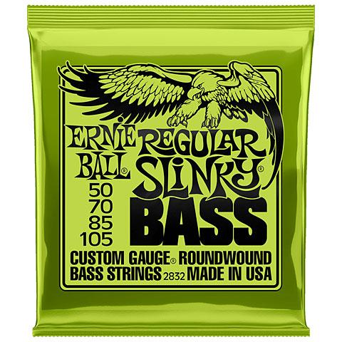 Corde basse électrique Ernie Ball Regular Slinky Bass 2832 .050-105