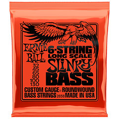Ernie Ball Slinky Long Scale 6-String 2838 .032-100 « Saiten E-Bass