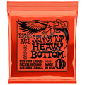 Cuerdas guitarra eléctr. Ernie Ball Skinny Top Heavy Bottom 2215 010-052