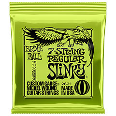 Ernie Ball 7-String Regular Slinky 2621 .010-056 « Cuerdas guitarra eléctr.