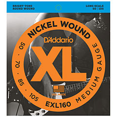 D'Addario EXL160 Nickel Wound .050-105 « Saiten E-Bass