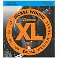 Cuerdas bajo eléctrico D'Addario EXL160 Nickel Wound .050-105