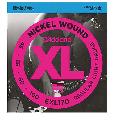 D'Addario EXL170 Nickel Wound .045-100