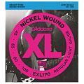 Set di corde per basso elettrico D'Addario EXL170 Nickel Wound .045-100