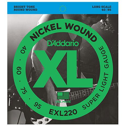 D'Addario EXL220 Nickel Wound .040-095