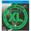 Cuerdas bajo eléctrico D'Addario EXL220 Nickel Wound .040-095