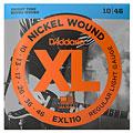 Elgitarrsträngar D'Addario EXL110 Nickel Wound .010-046
