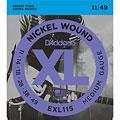 Elgitarrsträngar D'Addario EXL115 Nickel Wound .011-049