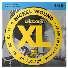 D'Addario EXL125 Nickel Wound .009-046 « Corde guitare électrique