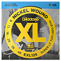 Electric Guitar Strings D'Addario EXL125 Nickel Wound .009-046