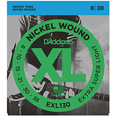 D'Addario EXL130 Nickel Wound .008-038 « Corde guitare électrique