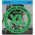 Cuerdas guitarra eléctr. D'Addario EXL130 Nickel Wound .008-038