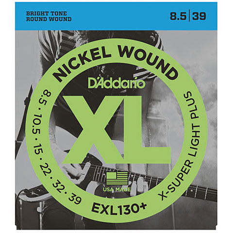 D'Addario EXL130+ Nickel Wound .0085-039